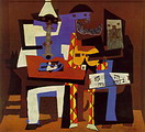 The Three Musicians �ؤ Cubism