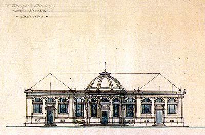 ห้องสมุดเนลสัน เฮย์ส กรุงเทพฯ (พ.ศ.๒๔๖๔-๒๔๖๕) (ภาพ : เอเลนา ตามานโญ)