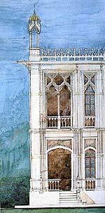 บ้านพระยาอนิรุทธเทวา (บ้านพิษณุโลก) กรุงเทพฯ (พ.ศ.๒๔๖๓-๒๔๖๖) (ภาพ : เอเลนา                          ตามานโญ)