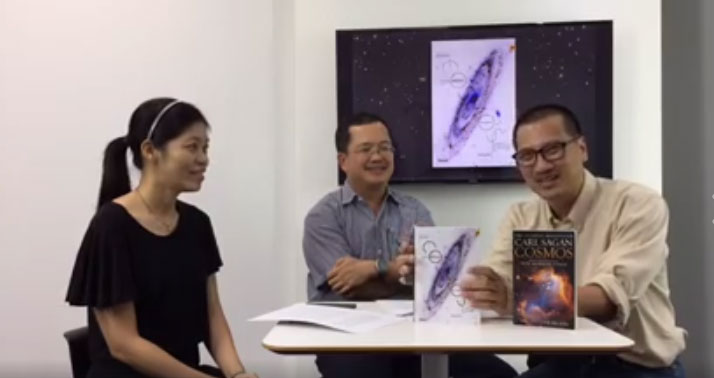 Live แนะนำหนังสือ 'Cosmos' หนังสือวิทยาศาสตร์คลาสสิกระดับโลก