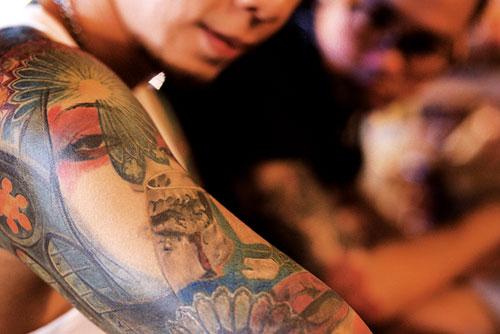 Tattoo ลายสัก เจ็บ จำ สวย