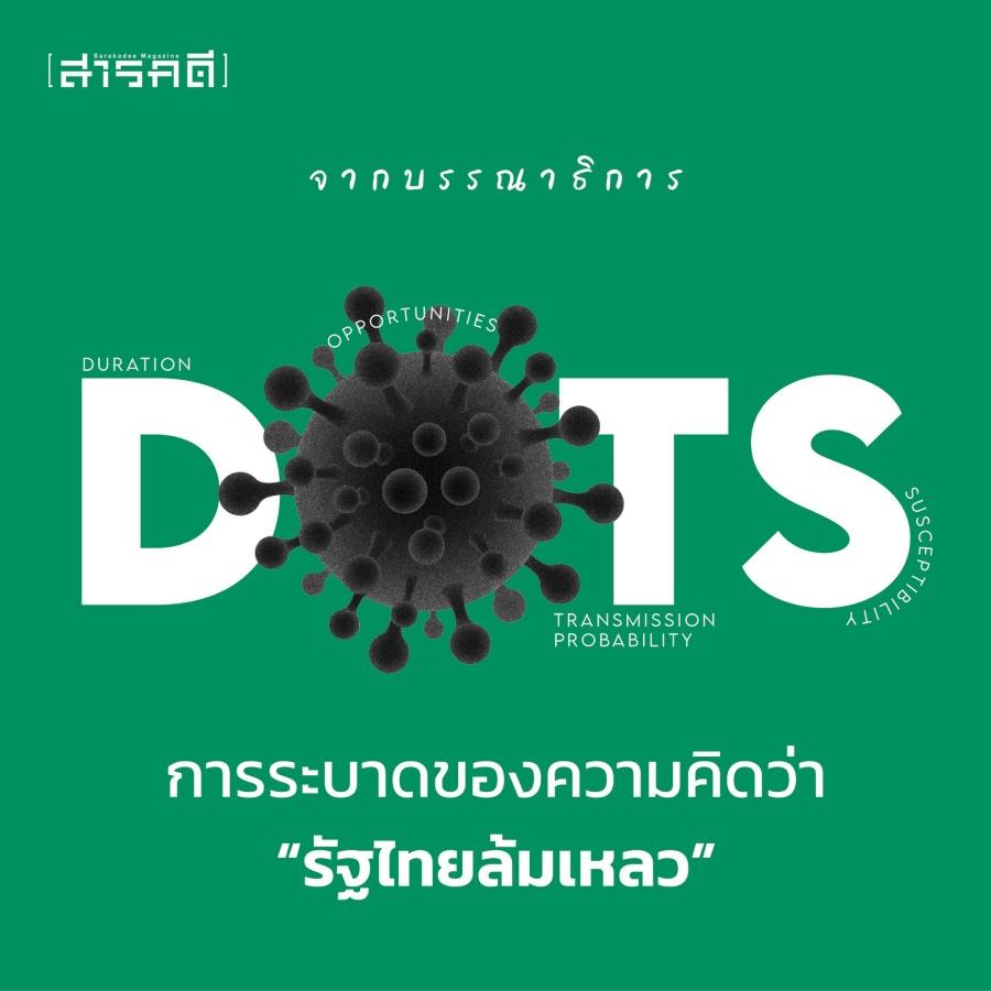 "DOTS การระบาดของความคิดว่า ""รัฐไทยล้มเหลว"""