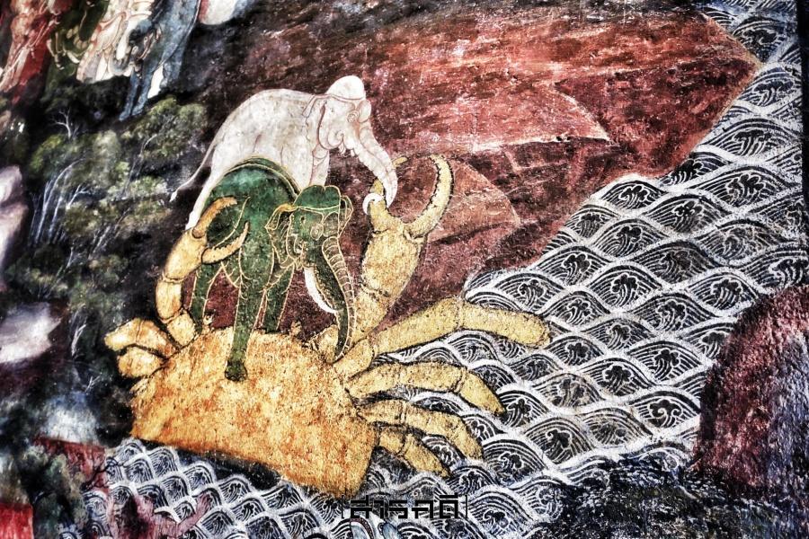 ประชากรแห่งหิมพานต์: พญาช้างกับปูทอง - สุเมรุจักรวาล ตอนที่ 51