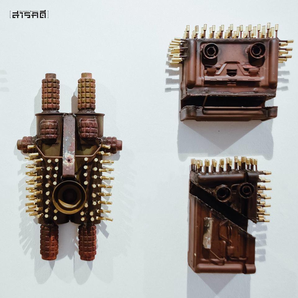"""เปลี่ยน """"อาวุธ"""" เป็น """"งานศิลป์"""" - กอนซาโล มาบุนดา (Gonzalo Mabunda)"""