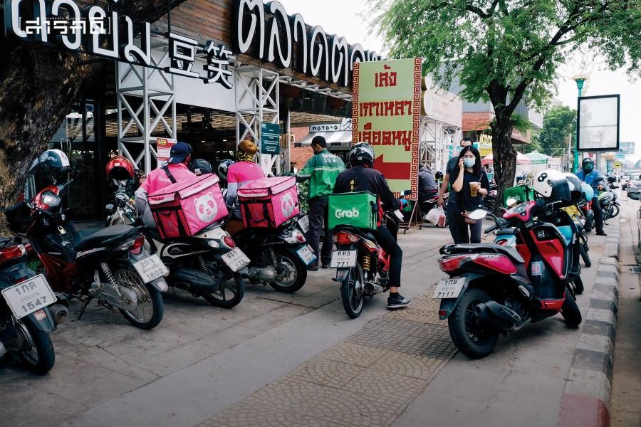 หลังโควิดระบาด ธุรกิจส่งอาหารในขอนแก่นเติบโตไม่ต่างจากในเมืองหลวง